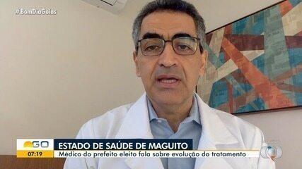 Médico de Maguito Vilela fala sobre evolução do tratamento do prefeito eleito