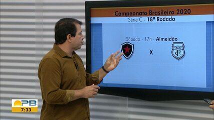 Treze empata com o Vila Nova e agora precisa de vitória contra o Botafogo para não cair