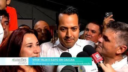 Vitor Valim é eleito prefeito de Caucaia