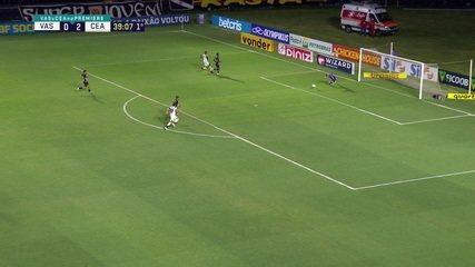 Melhores momentos: Vasco 1 x 4 Ceará, pela 23ª rodada do Brasileirão