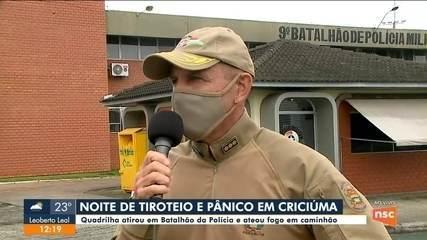 Polícia permanece internada após ser ferida durante assalto em Criciúma