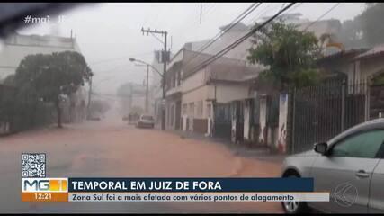 Após enchente, Defesa Civil alerta para risco de novos alagamentos em Juiz de Fora