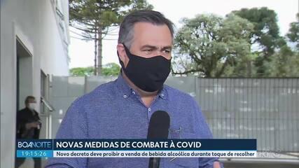 Governo discute novas medidas para segurar o avanço da Covid-19 no estado