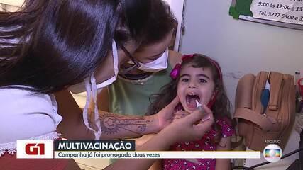 Campanha de vacinação se encerra nesta sexta com pouco mais da metade da meta atingida