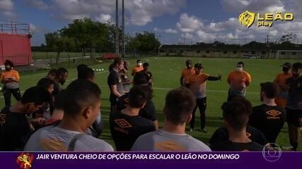 As opções de Jair Ventura para o duelo contra o São Paulo