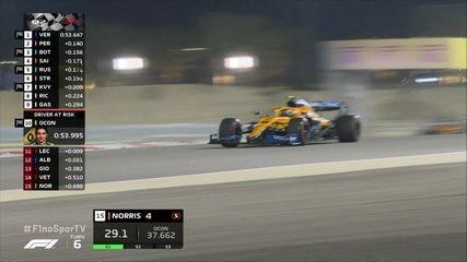 Confira os momentos finais do Q2 do GP de Sakhir
