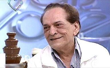 Lucio Mauro falou da longa carreira e da vida no 'Mais Você', em 2008