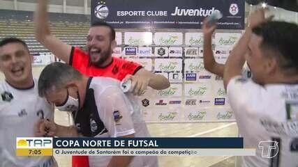 Copa Norte de Futsal: veja como foi o último dia da competição em Santarém
