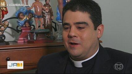 Padre Robson e outros 17 investigados foram denunciados pelo MP