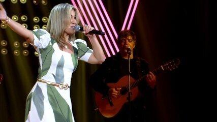 Fabiana Souto canta 'Expresso 2222' nos Shows ao Vivo