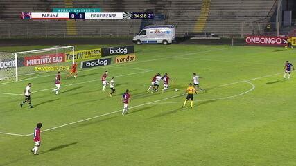 Melhores momentos: Paraná 0 x 2 Figueirense, pela 27ª rodada do Brasileirão Série B