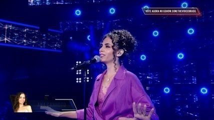 Ana Canhoto canta 'Sua música'