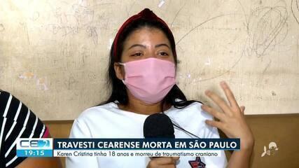 Travesti cearense é assassinada em São Paulo