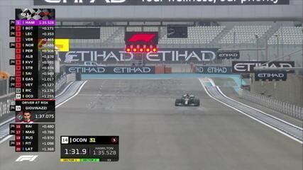 Lewis Hamilton faz o melhor tempo do Q1 com 1m35s528