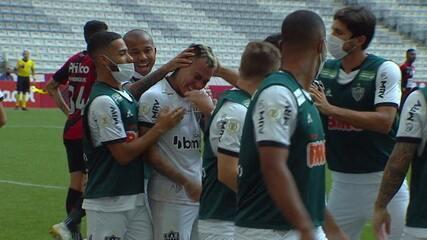 O gol de Athletico-PR 0 x 1 Atlético-MG, pela 25ª rodada do Brasileirão 2020