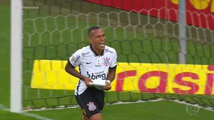 Gols do Fantástico: líder do Brasileirão, São Paulo perde para o Corinthians em clássico