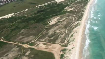 Celular cai de avião e grava todo o trajeto até o chão em praia de Cabo Frio, no RJ