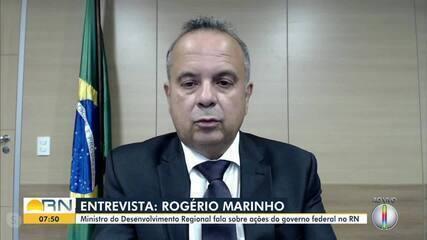 Ministro do Desenvolvimento Regional fala sobre ações do governo federal no RN