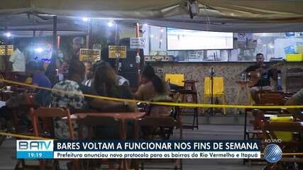 Prefeitura de Salvador anuncia novo protocolo para os bairros do Rio Vermelho e Itapuã