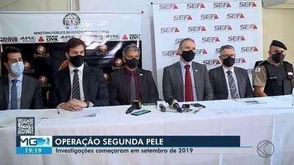 Gaeco combate o comércio ilegal de couro em diversas regiões de MG