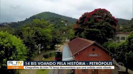 Cinegrafista da Inter TV lança documentário com imagens aéreas de Petrópolis