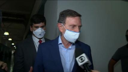 Marcelo Crivella diz que espera 'justiça'
