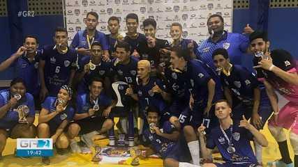 Associação Atlética Cabrobó de Futsal é a grande campeã do Pernambucano de Futsal
