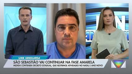 São Sebastião contraria governo de SP e segue na fase amarela
