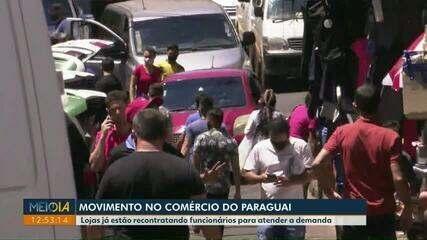 Movimento no Paraguai aumenta por causa das compras de fim de ano