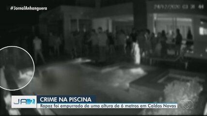 Polícia investiga agressão em condomínio de luxo em Caldas Novas