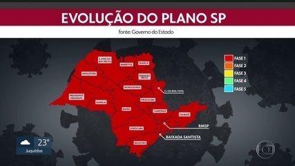 São Paulo volta para a fase vermelha durante o feriadão de Natal