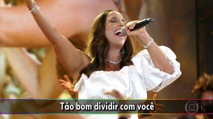 Ivete canta 'Tempo de Alegria'