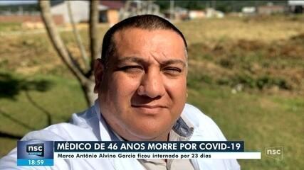 Médico de Joinville morre por Covid-19