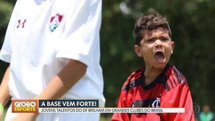 Jovens talentos do DF brilham em grandes clubes de futebol do Brasil