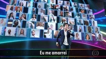 Daniel canta 'Eu Me Amarrei'