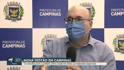 Saúde, educação e moradia: prefeito de Campinas aborda desafios do mandato