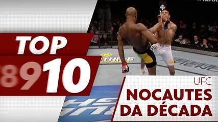 Top 10: os melhores nocautes da década no UFC
