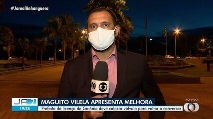 Maguito Vilela apresenta melhora no quadro de saúde