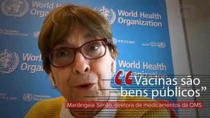 VÍDEO: Vacinas são 'bens públicos', diz brasileira diretora de setor da OMS