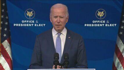 """Joe Biden: """"não é protesto, é insurreição"""""""