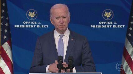 Joe Biden: 'Nossa democracia está sob um ataque sem precedentes
