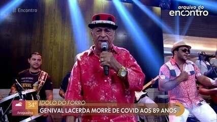 Famosos lamentam a morte de Genival Lacerda