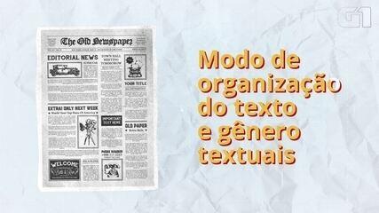 Enem 2020: tire dúvidas sobre modos de organização de texto e gêneros textuais