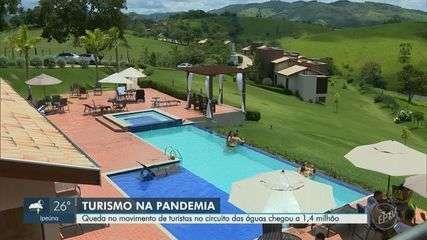 Fluxo em cidades turísticas das regiões de Campinas e Piracicaba cai quase 30%, diz estado