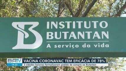 Três cidades da Bahia formalizam pedidos para compra da vacina contra a Covid-19