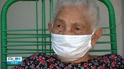 Idosa de 108 anos consegue se recuperar da Covid-19