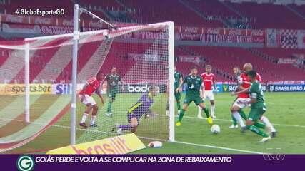 Goiás joga bem, mas perde para o Internacional no Beira-Rio