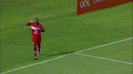 Os gols de CRB 2 x 0 pela 34ª rodada do Brasileirão Série B