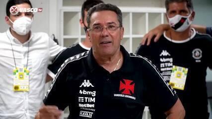 Veja o discurso de Vanderlei Luxemburgo, após a vitória do Vasco sobre o Botafogo