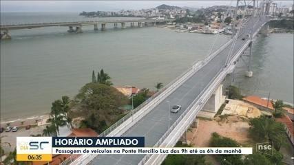 Florianópolis: Passagem de veículos na Ponte Hercílio Luz é ampliado